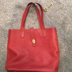 Fossil red bag